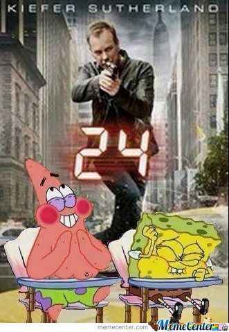 Spongebob & Patrick With 24.