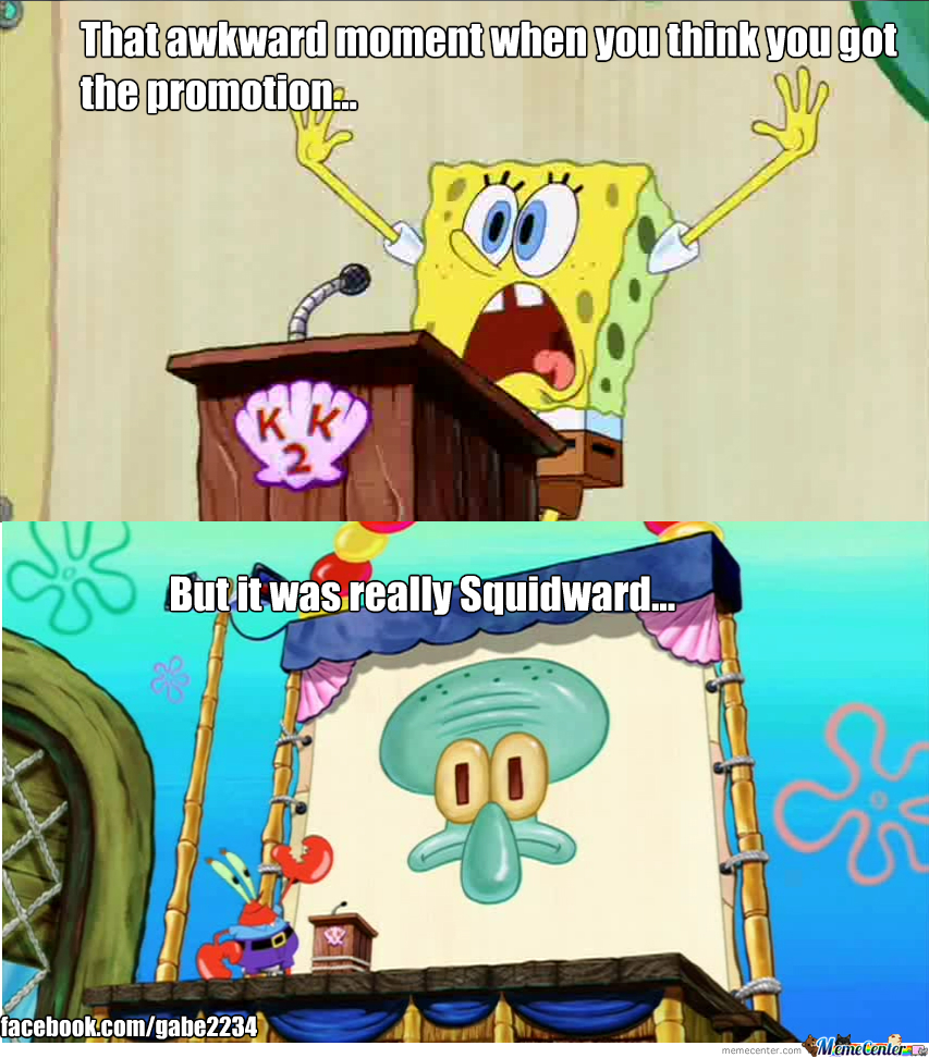Spongebob Awkward Moments by gabe2234 - Meme Center