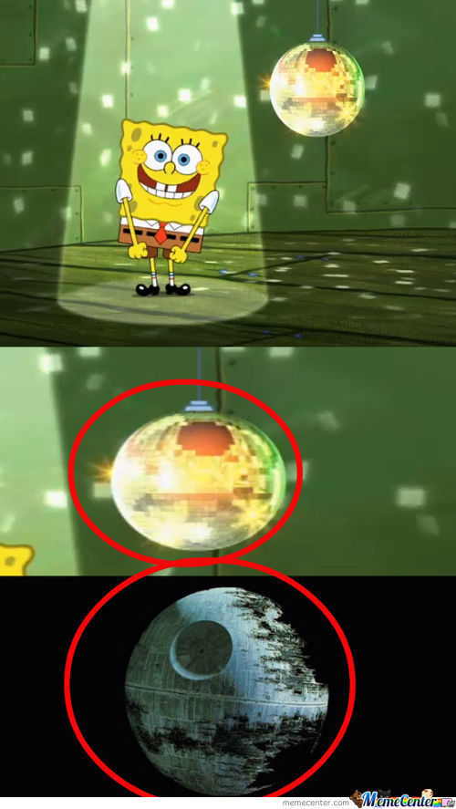 Spongebob Death Star