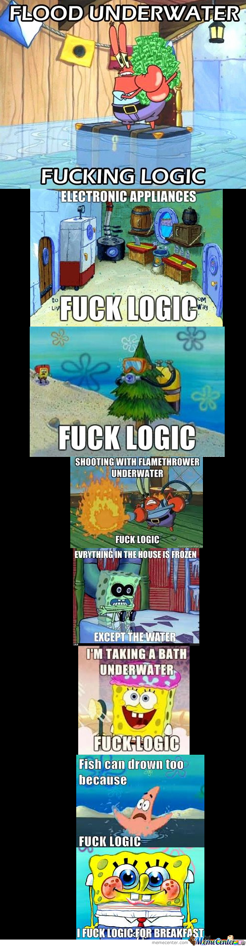 Spongebob Fuck All Logic