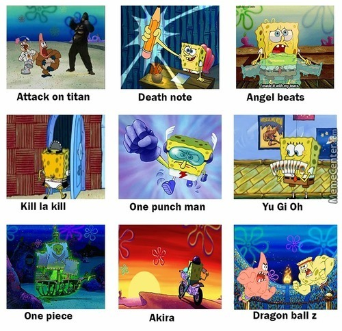 Spongebob Is Best Anime