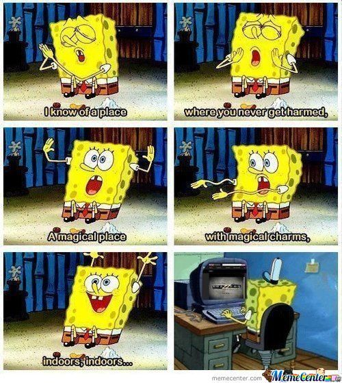 Spongebob Knows What's Up.
