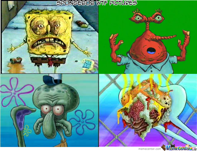 Spongebob Wtf Pictures