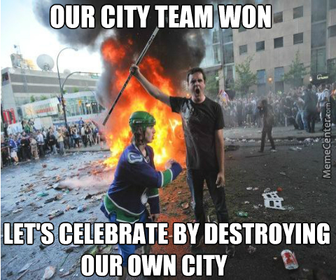 Sport Riots, Why Alchohol And Sport Team Fanboys Should Never Be Combined