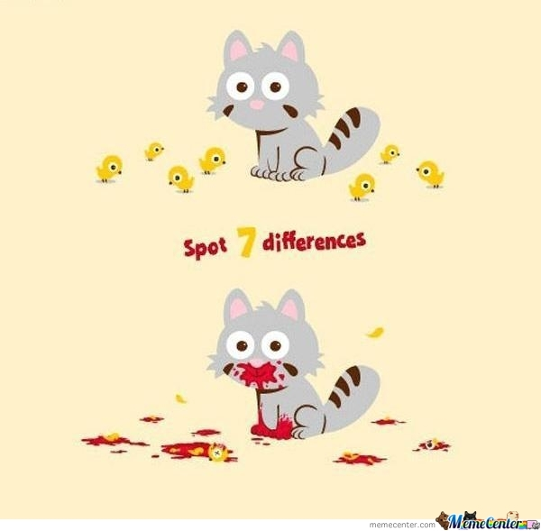 Spot 7 Differences