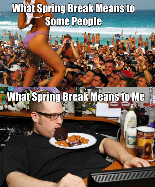 Spring Break For Me