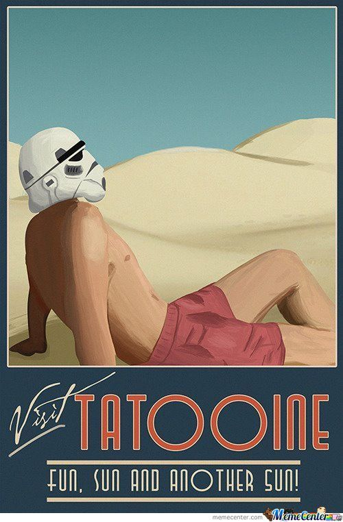 Spring Break On Tatooine