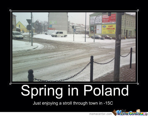 Spring In Denmark? Pff... Take A Look At Spring Here!