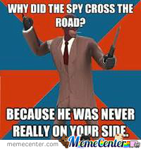 Spy Is Not On Your Side