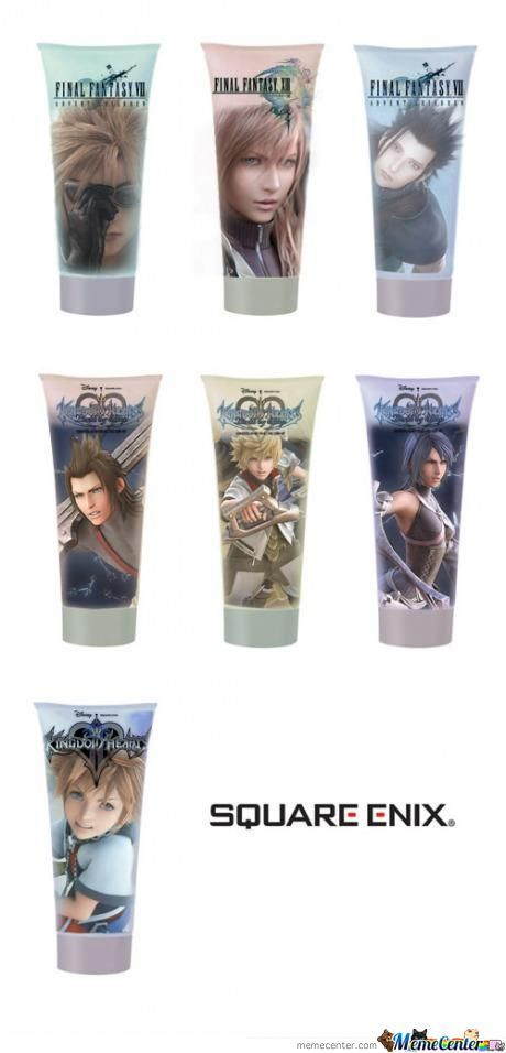 Square Enix Introduces The Worlds Most Powerful Hair Gel