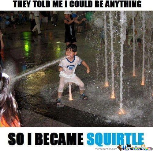 Squirtle Used Water Gun. It´s Super Effective!!