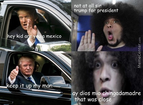 Sr Pelo Needs To Be Deported Tbh