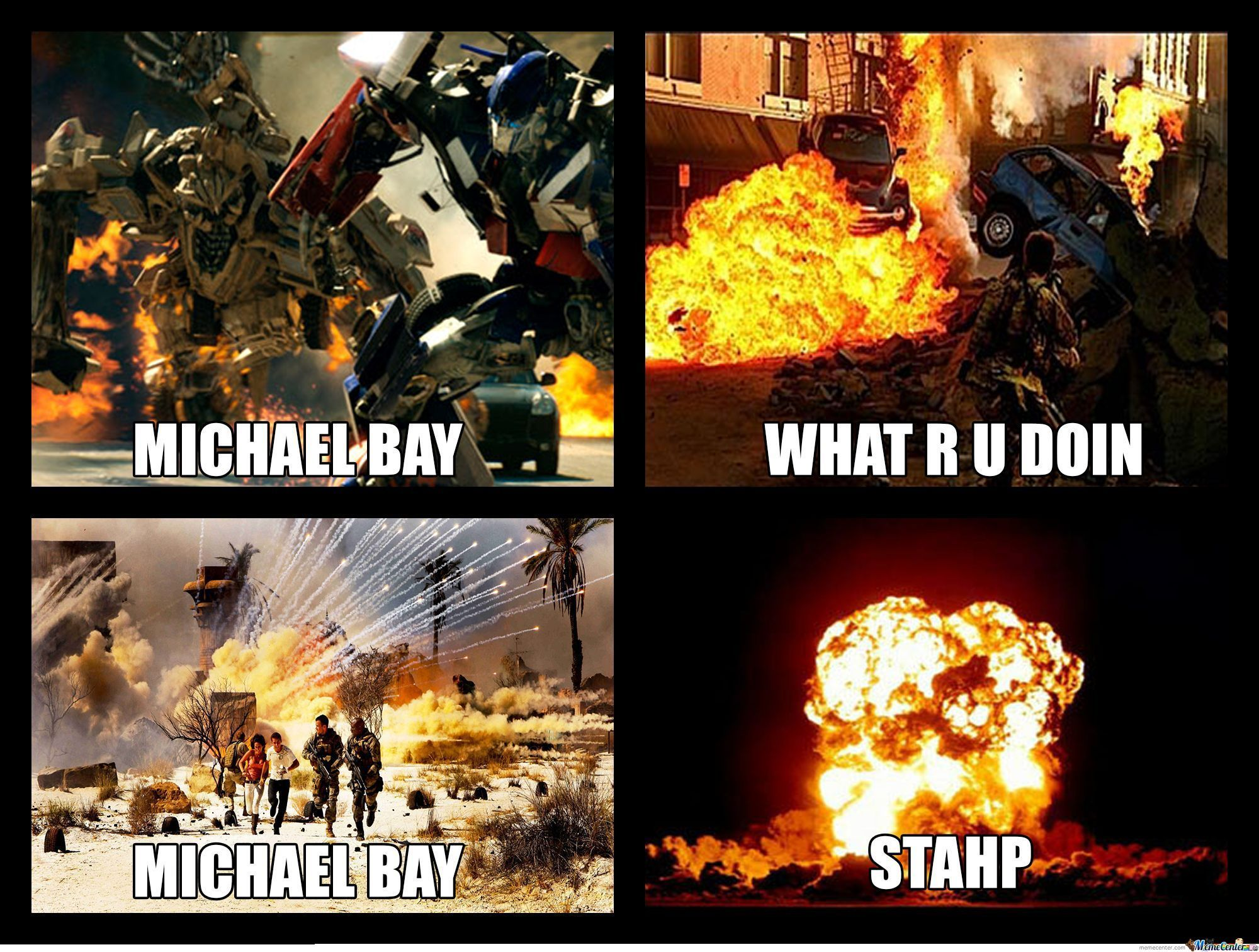 Michael Bay Stahp