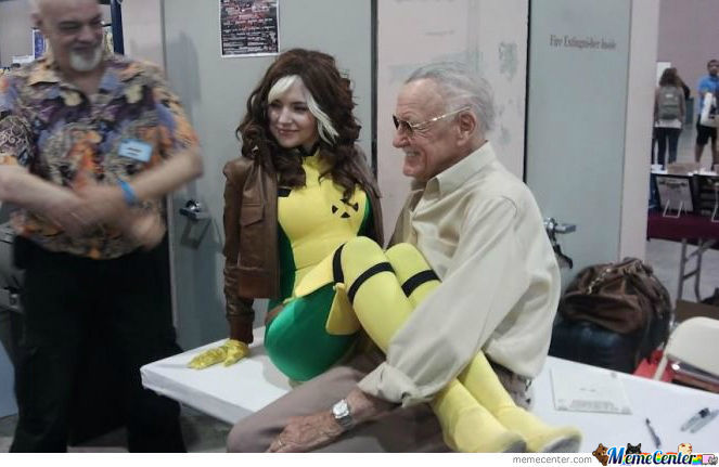 Stan Lee You're Doing It Right!