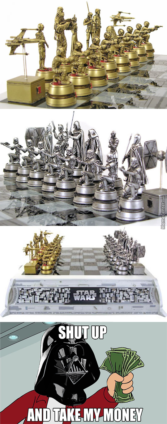 Star Wars Style Chess Pieces By Sparrowdude Meme Center