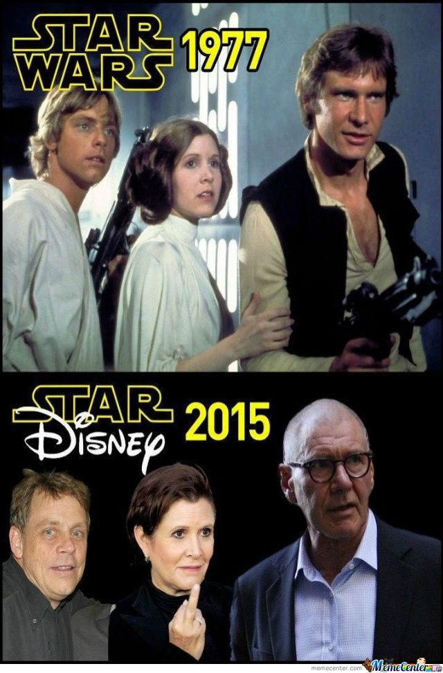 Star Wars: Then And Now.