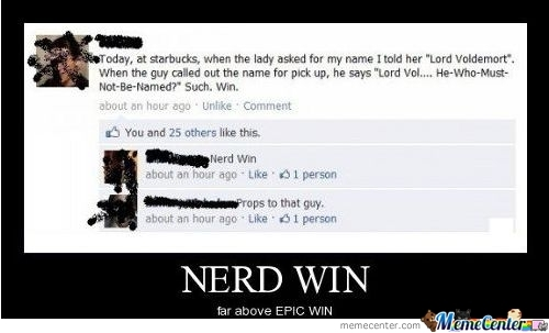 Starbucks Harry Potter Moment.