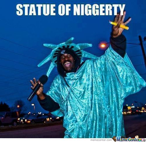 Statue Of Niggerty