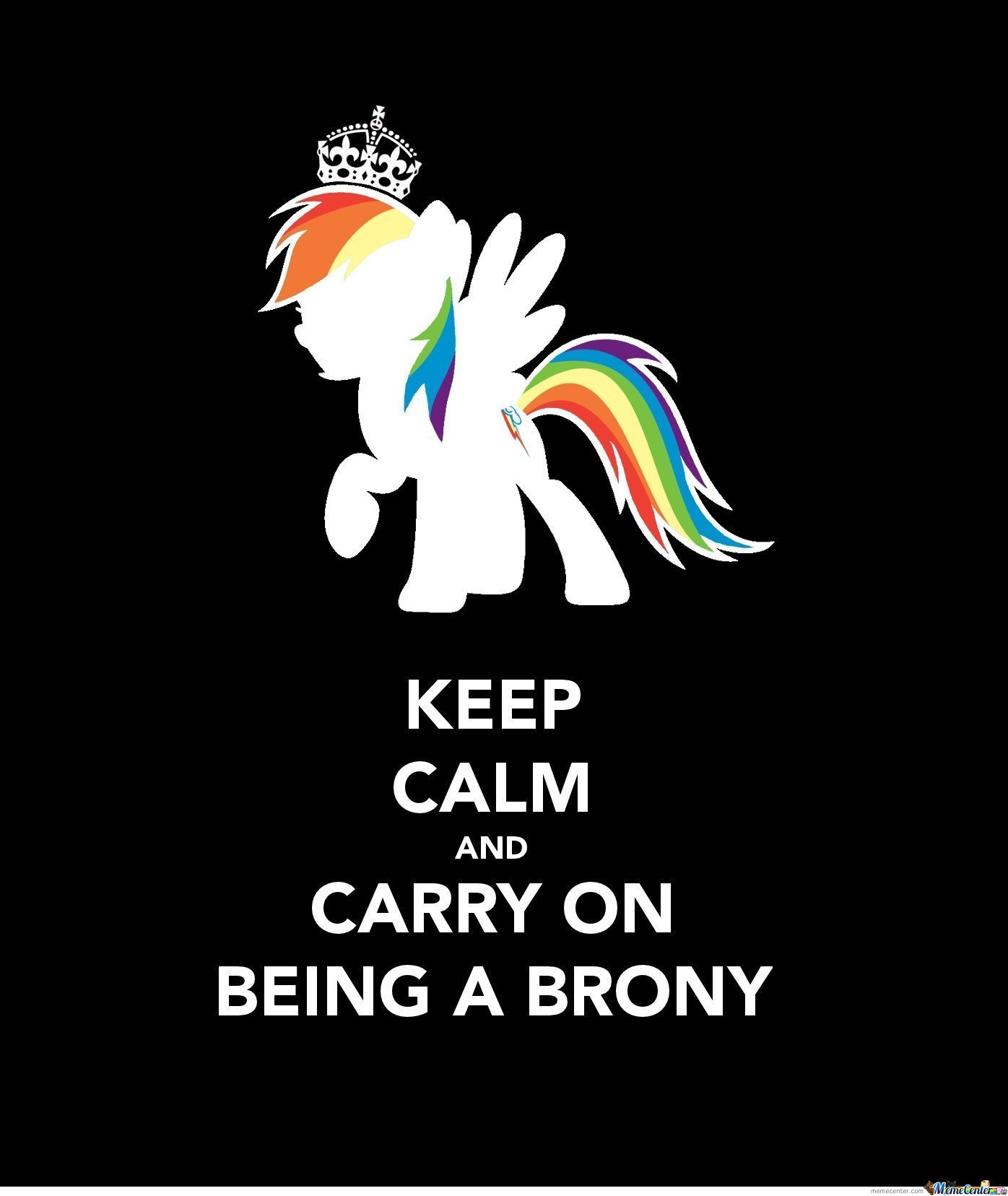 Stay Calm Everybrony