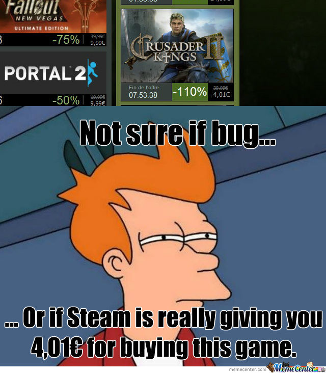 Steam Bug