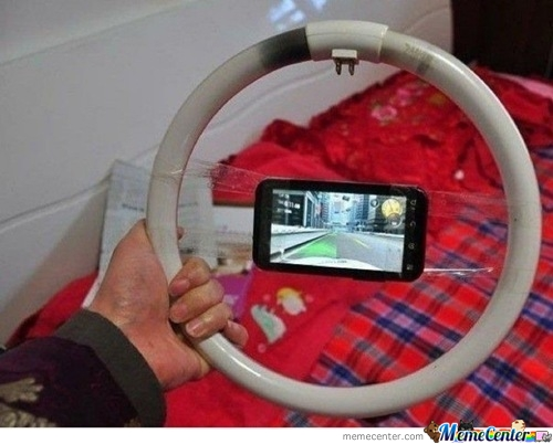 Steering Wheel Like A Boss!