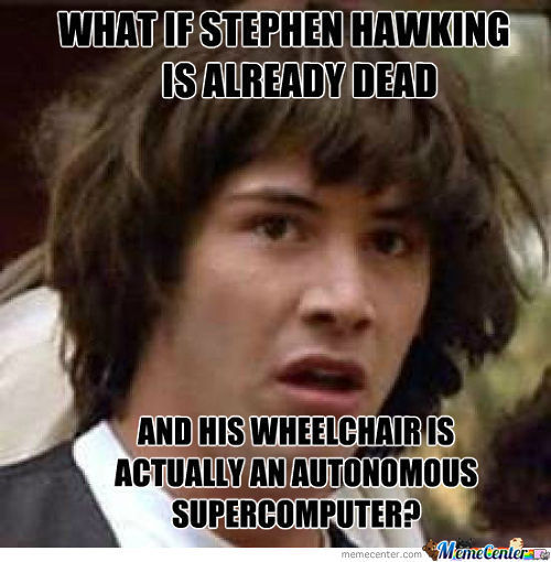 Stephen Hawking Logic