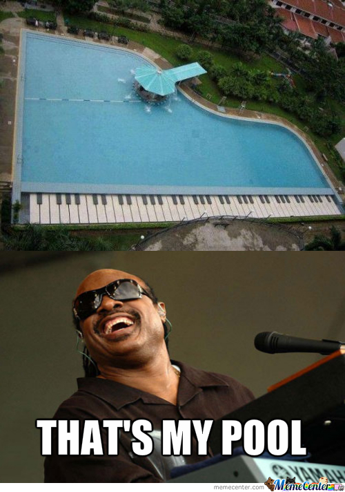 Stevie Wonder's Pool