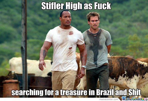 Stifler Is High
