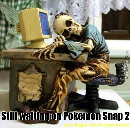 Still Waiting On Pokemon Snap 2