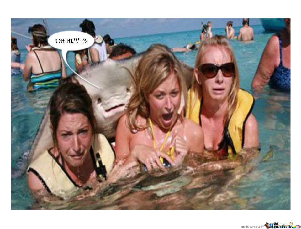 Stingray Photobomb!!!
