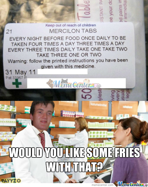 Stoner Stanley Working At The Pharmacy