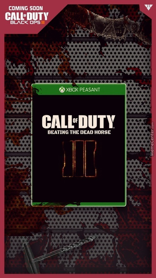 Stop Beating The Dead Horse Activision !