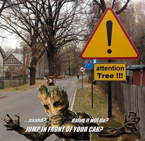 Stop Being So Edgy, Groot! It's Possible...