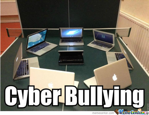 Stop Cyber Bullying, You Cunts