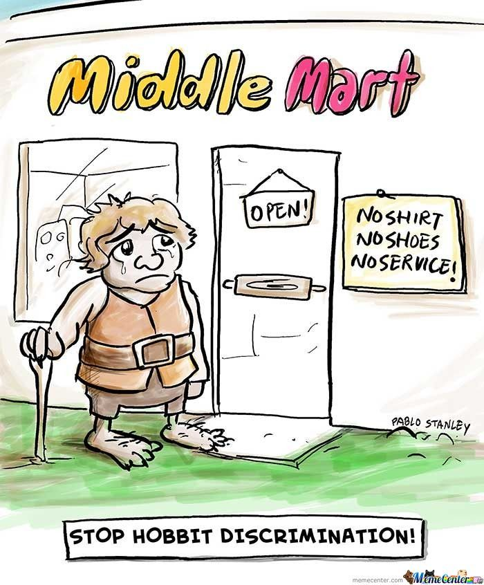 Stop Hobbit Discrimination!