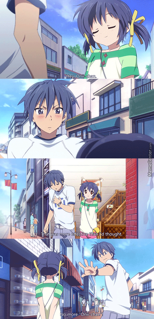 Stop It ! You Evil Loli... (Anime: Clannad )