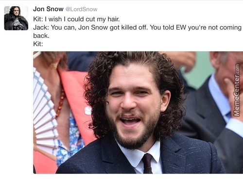 Stop Messing With Us, Jon Snow!