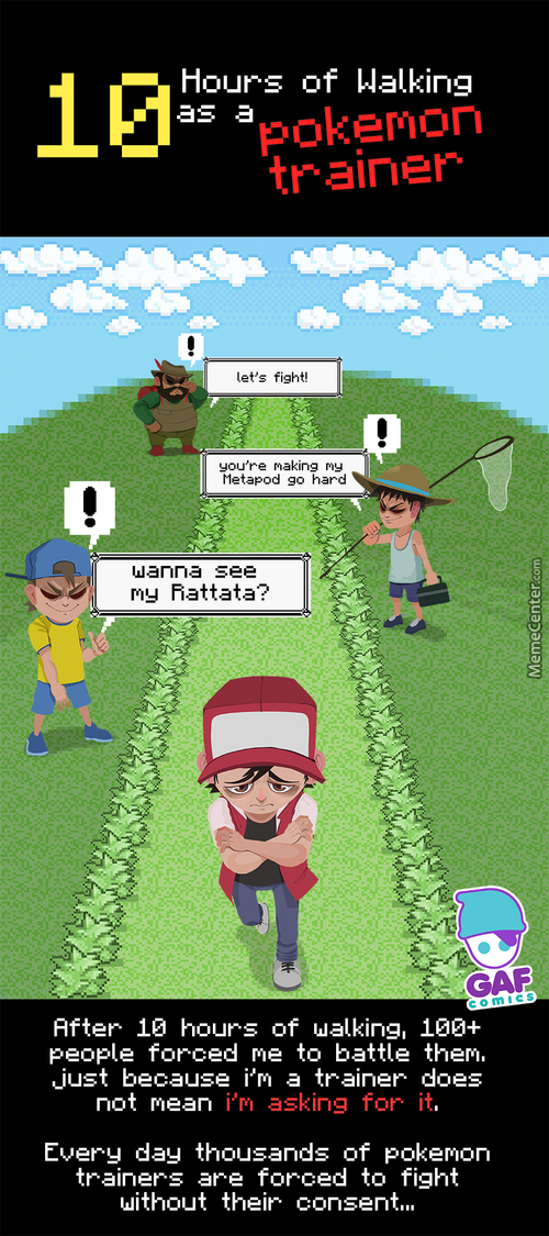 Stop  Pokemon Street Harassment !