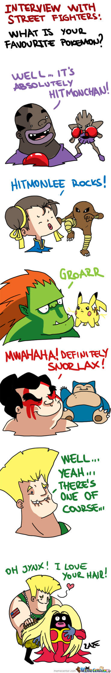 Street Fighter X Pokemon