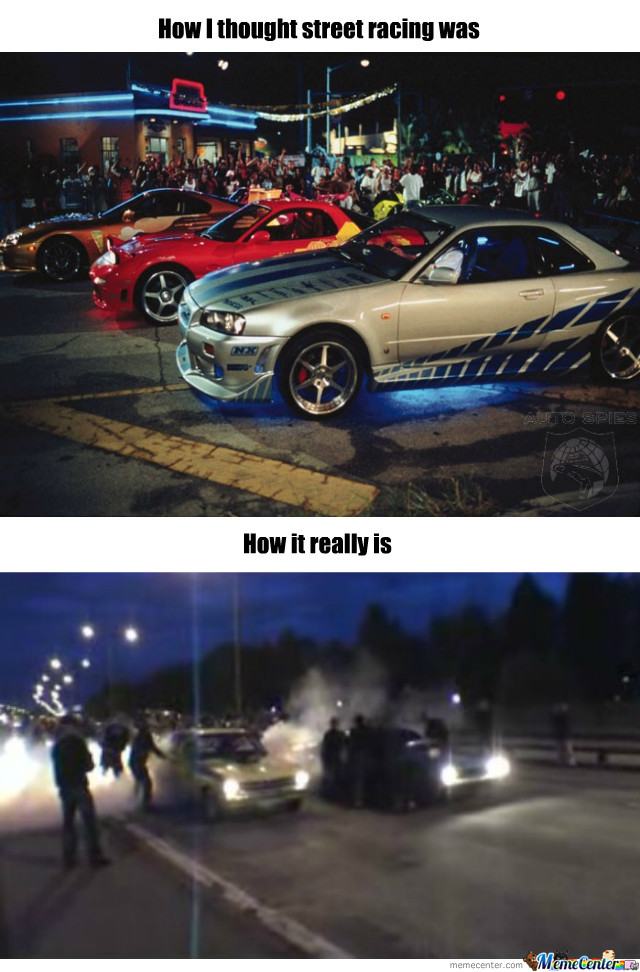 Street Racing By Recyclebin Meme Center