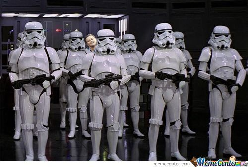 Strutting Stormtroopers