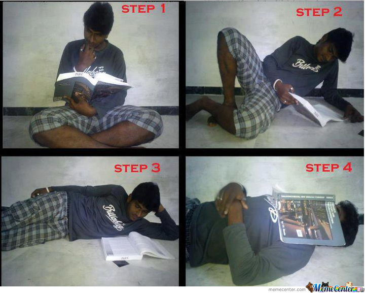 Studying In 4 Steps