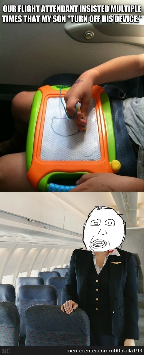 Stupid Flight Attendant