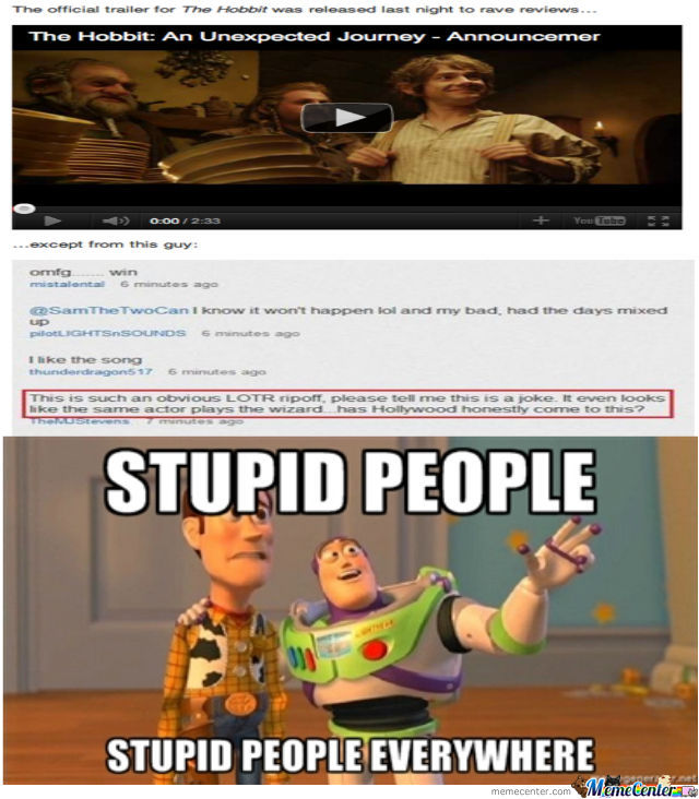 Stupid People Everywhere (Part 16)