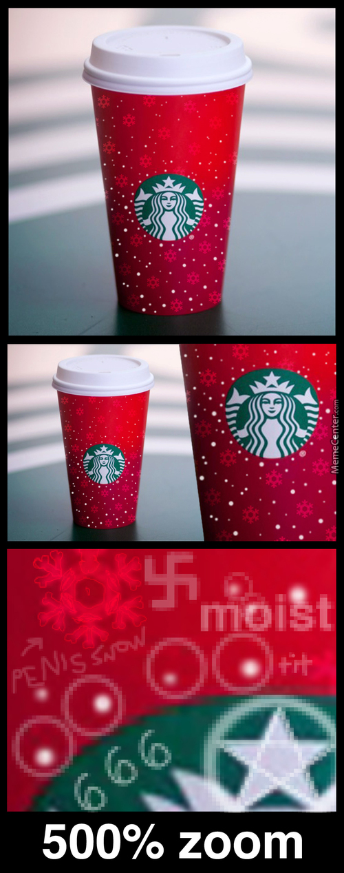 Subtle Yet Highly Offensive Holiday Cup