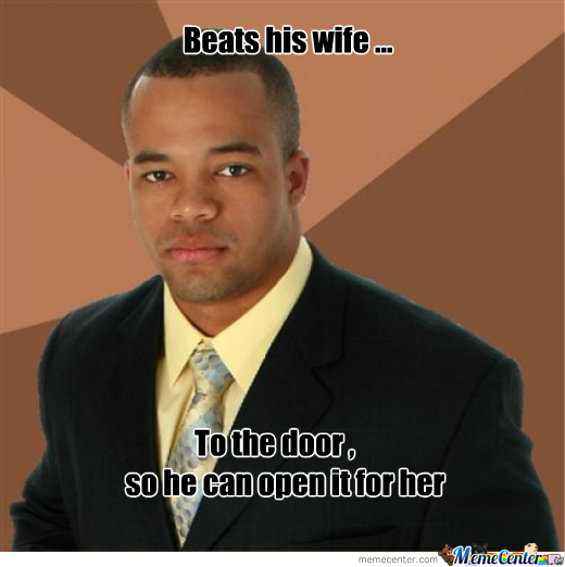 Successful Black Man Beats His Wife