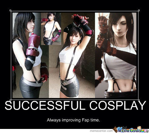 Successfull Cosplay
