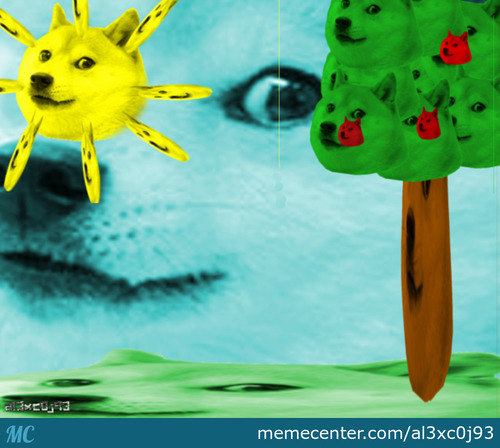 Such Art. Wow Colors. Much Doge