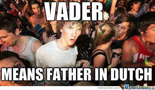 Sudden Star Wars Clarity