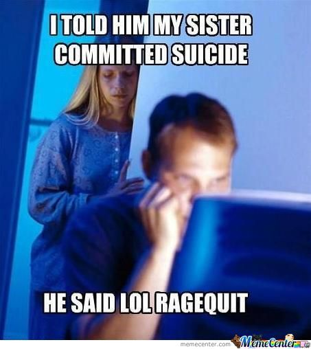 Suicide Is Funny. Xd